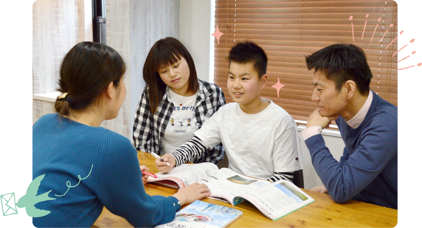 京都府で家庭教師を検討されたご家庭の相談内容とご提案内容