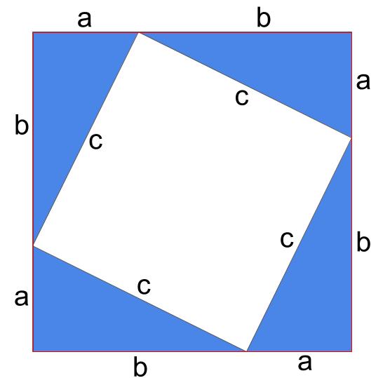 三平方の証明の図