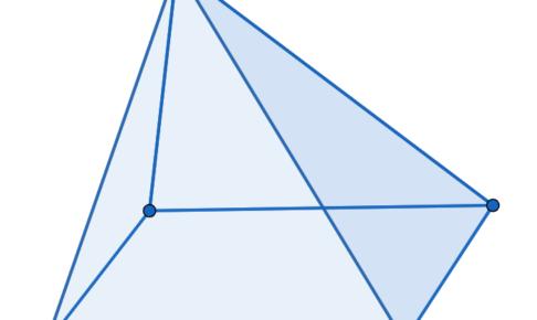 四角錐の図